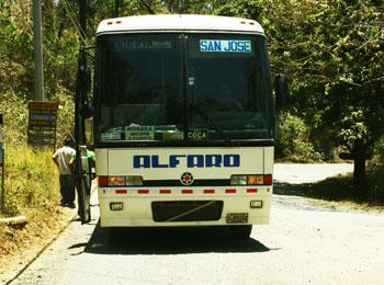 Alfaro - Tamarindo/San Jose Bus