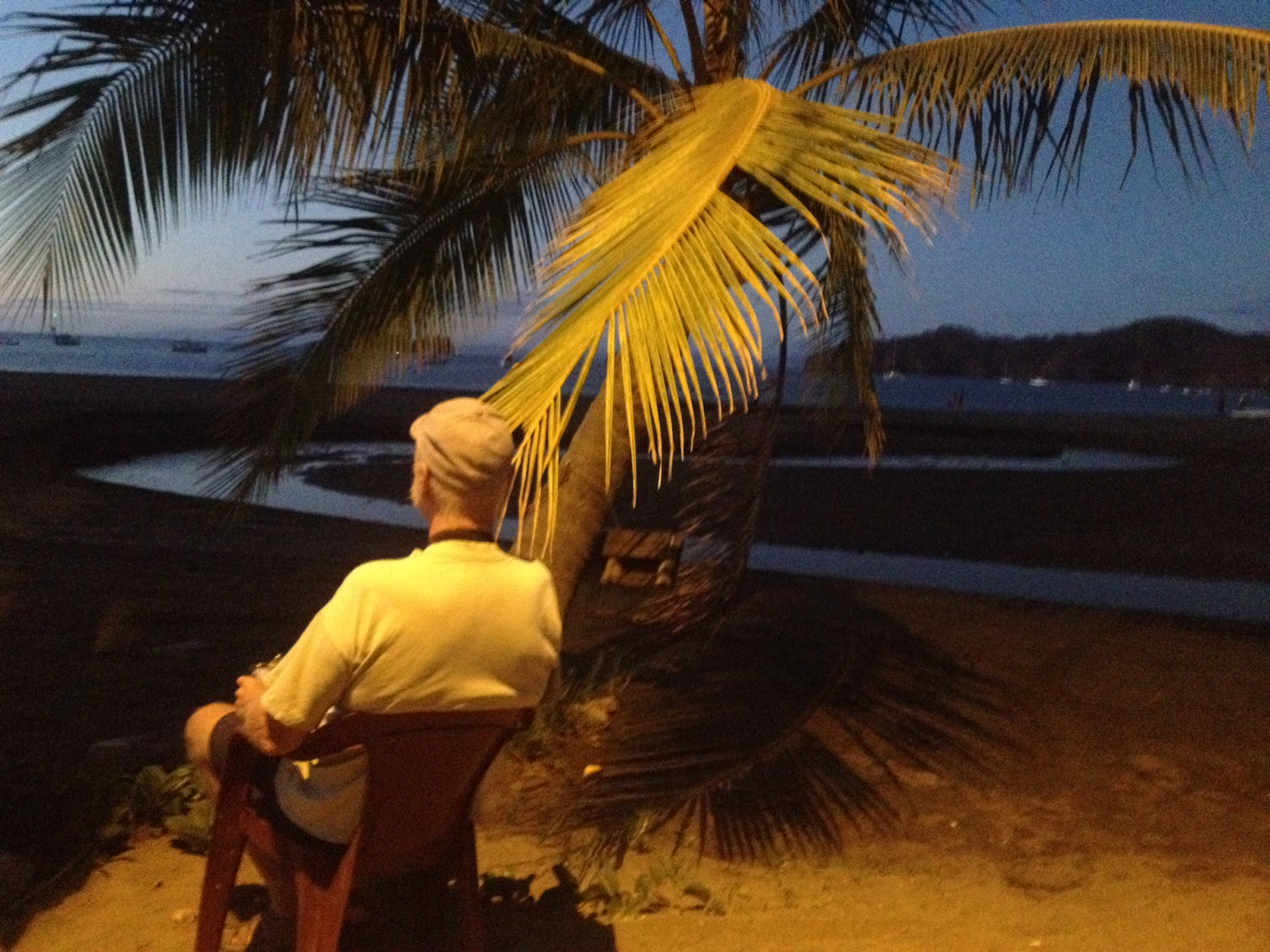 Papa Rooster - Playas del Coco Sunset - February 2014