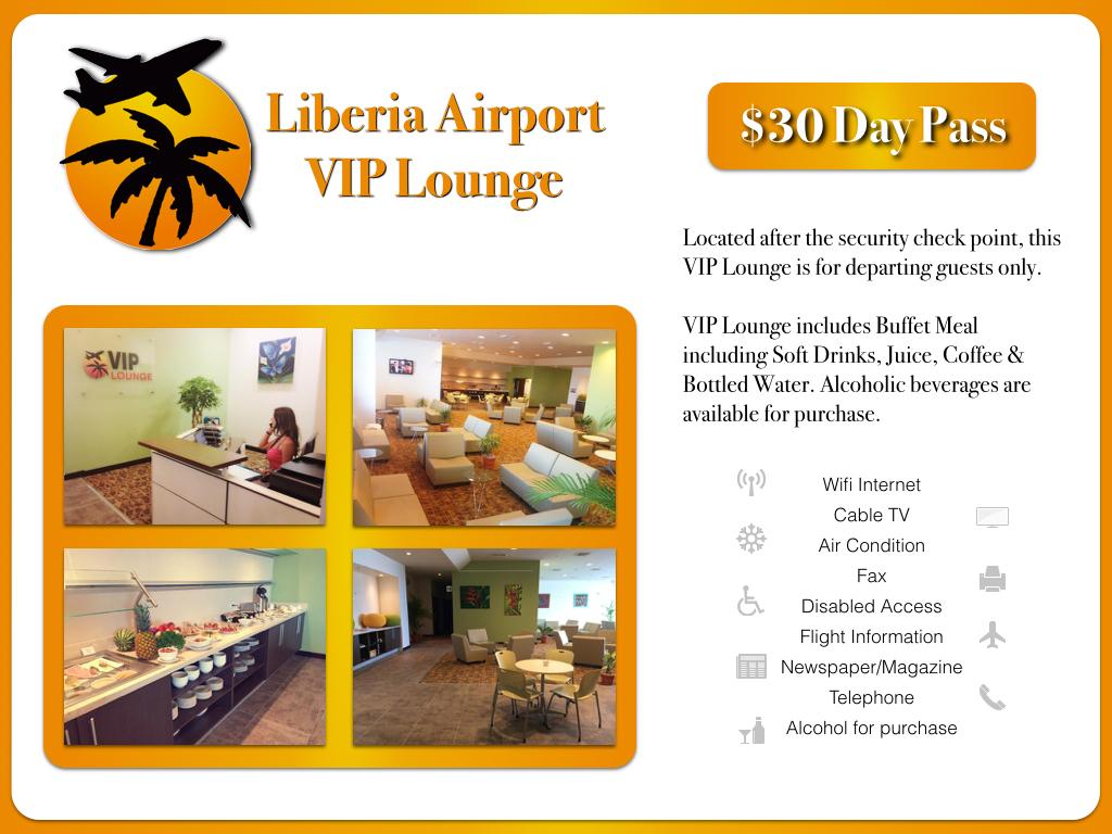 Liberia Airport VIP Lounge