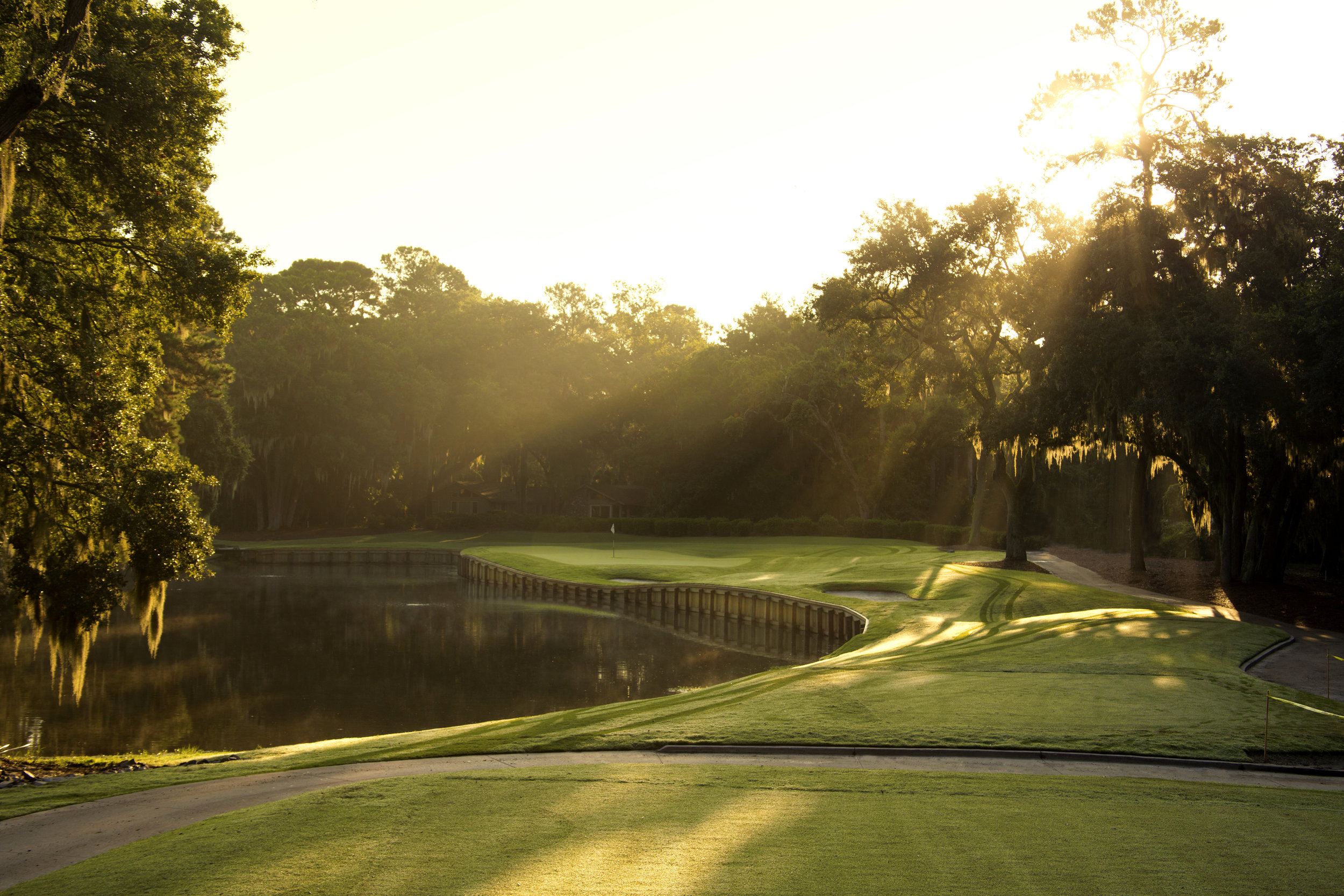 Golf Hole #13, 157 Yards, Par 3
