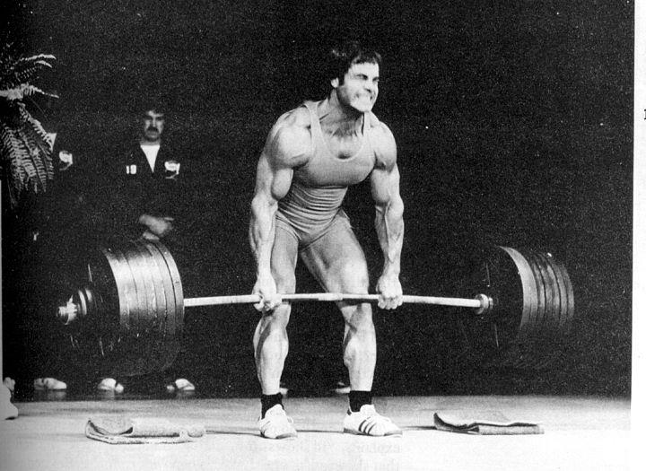 Even powerlifters can become bodybuilders and vice versa; it's all about how hard you're willing to train. Franco was willing to train as hard as it took.