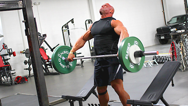 Picture courtesy of T-Nation's article on the Muscle Snatch.