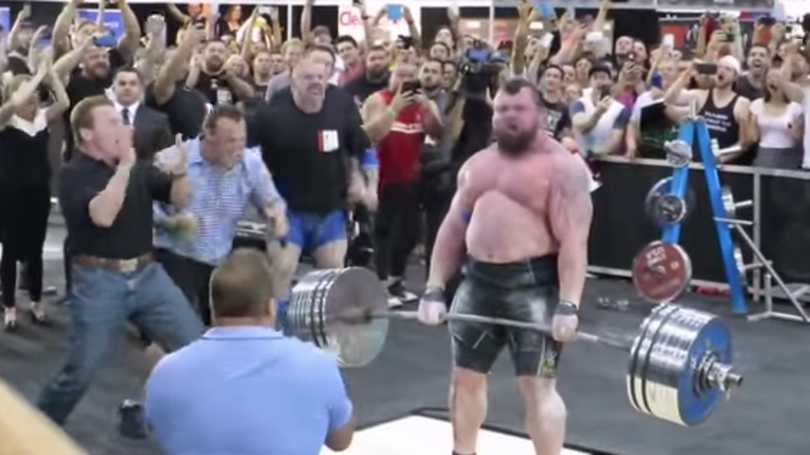 By the very definition, we can't all set world records while Arnold cheers us on... otherwise they wouldn't mean very much.