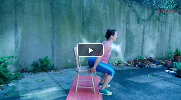 Lower Body w/Chair - 14 min Blast Workout