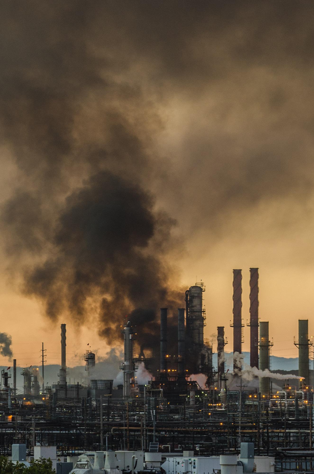 Fire, Richmond Chevron