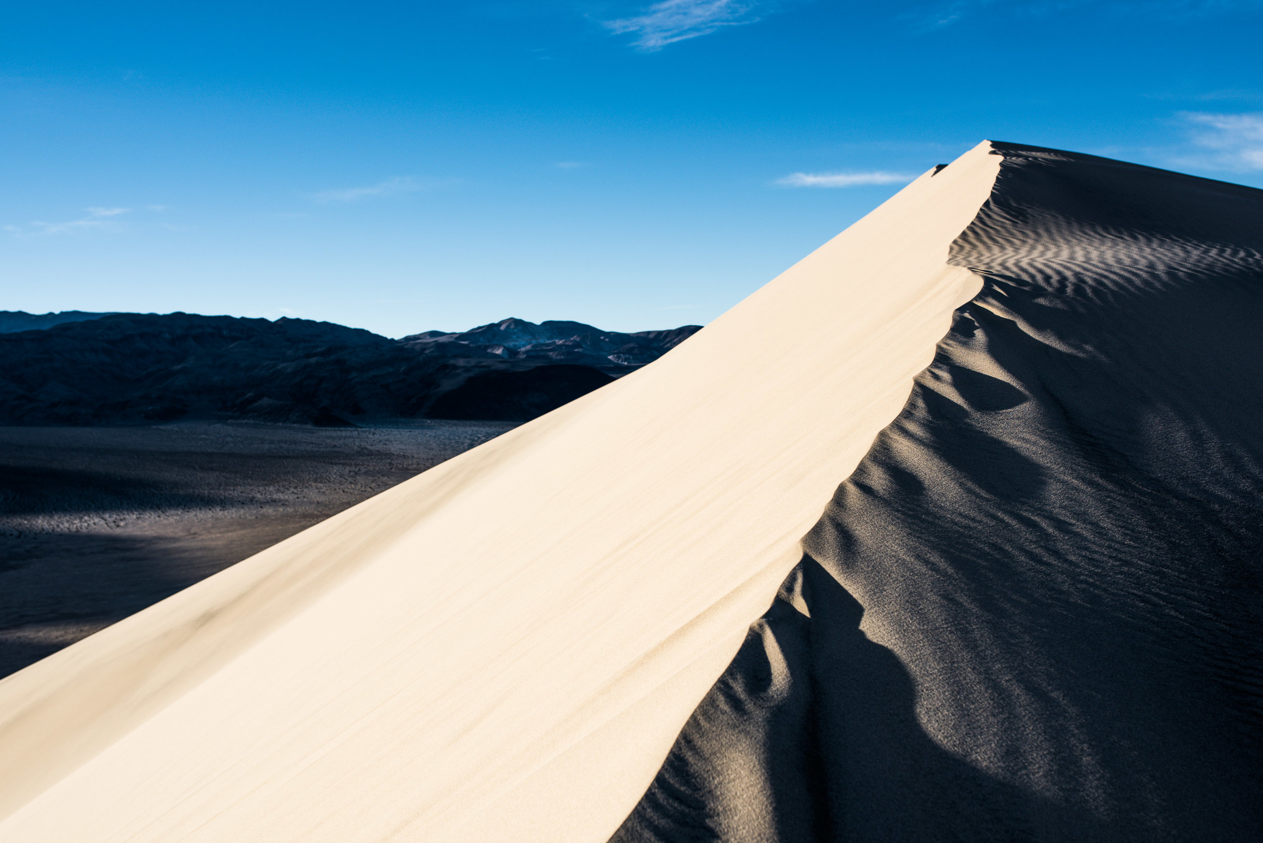 Sunrise on Eureka Dunes