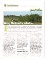 WOODY PLANT CONTROL IN PRAIRIES