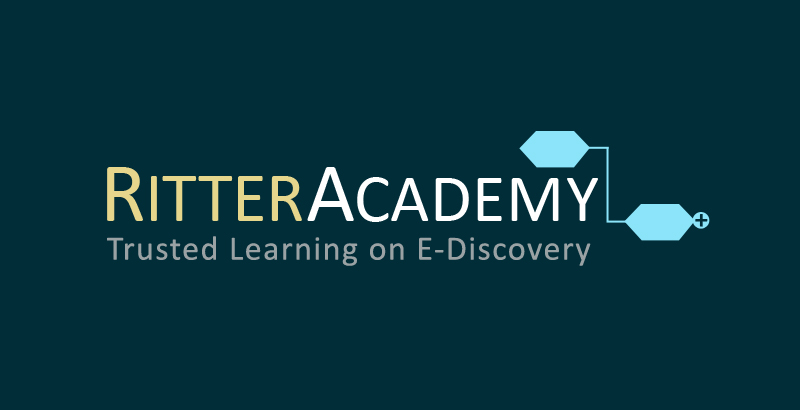 RitterAcademy. Trusted Learning on E-Discovery.