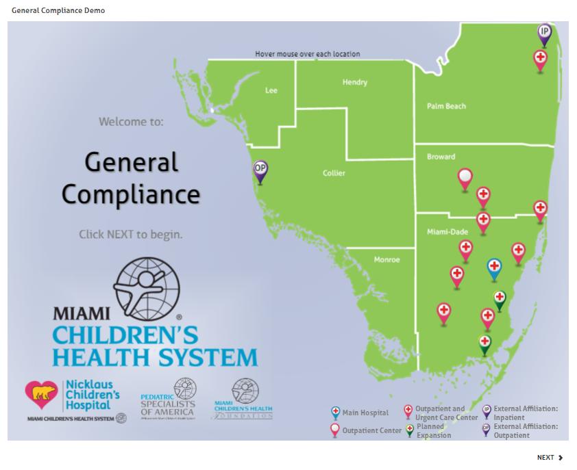 General Compliance demo
