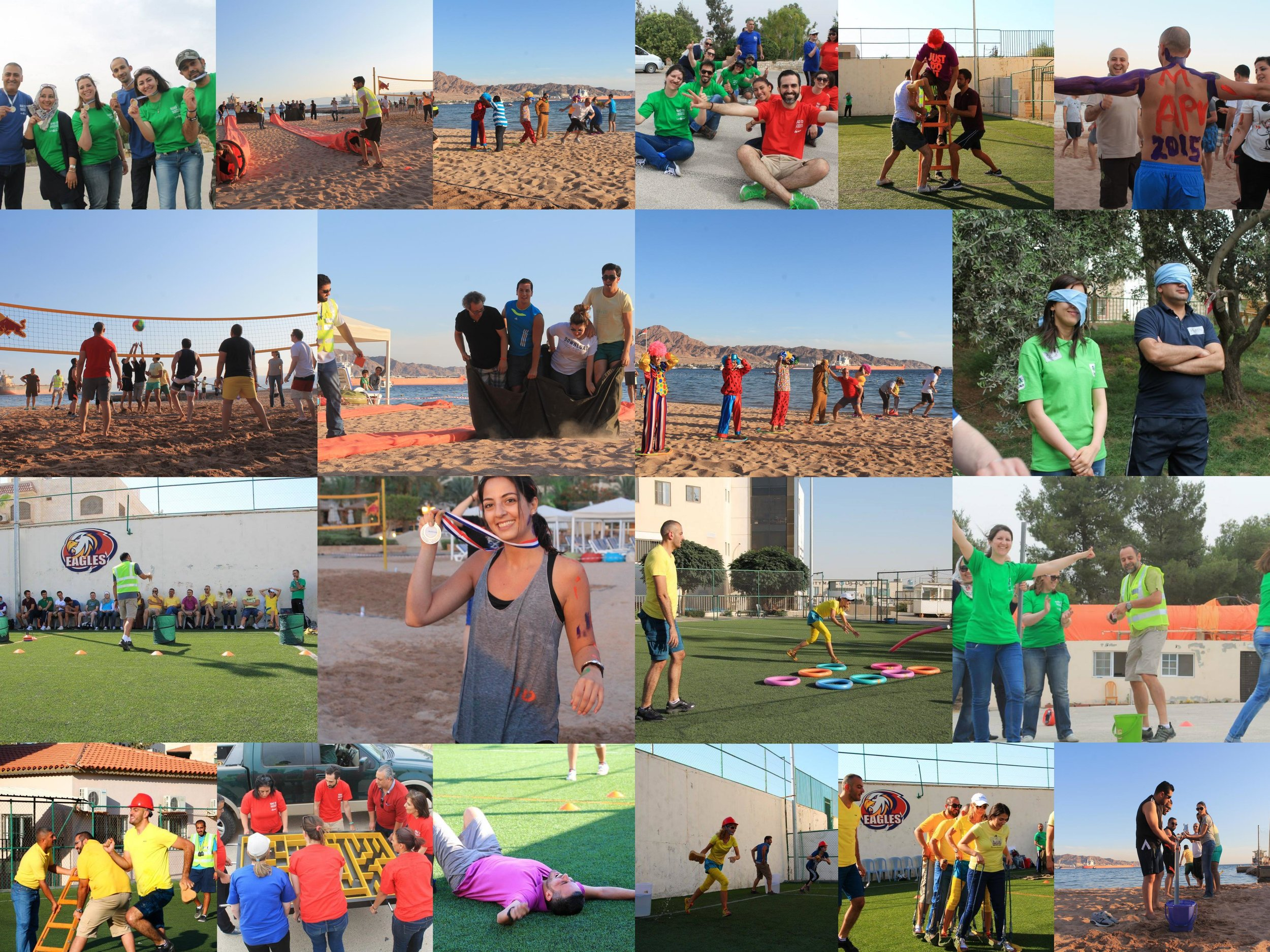 Team Building & Training Programs — Dynamix in Jordan