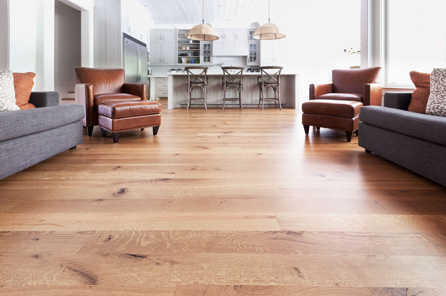 Wide-Plank Hardwood Flooring | Hitson and Company