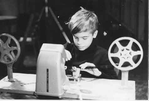 """Paul Falcone starting making films at the age of 5 at the Yellow Ball Workshop: An animation school run by his parents Yvonne Andersen and Dominic Falcone. His first solo effort was a cut out animated movie called """"Underwater Creatures"""" about giant monsters."""
