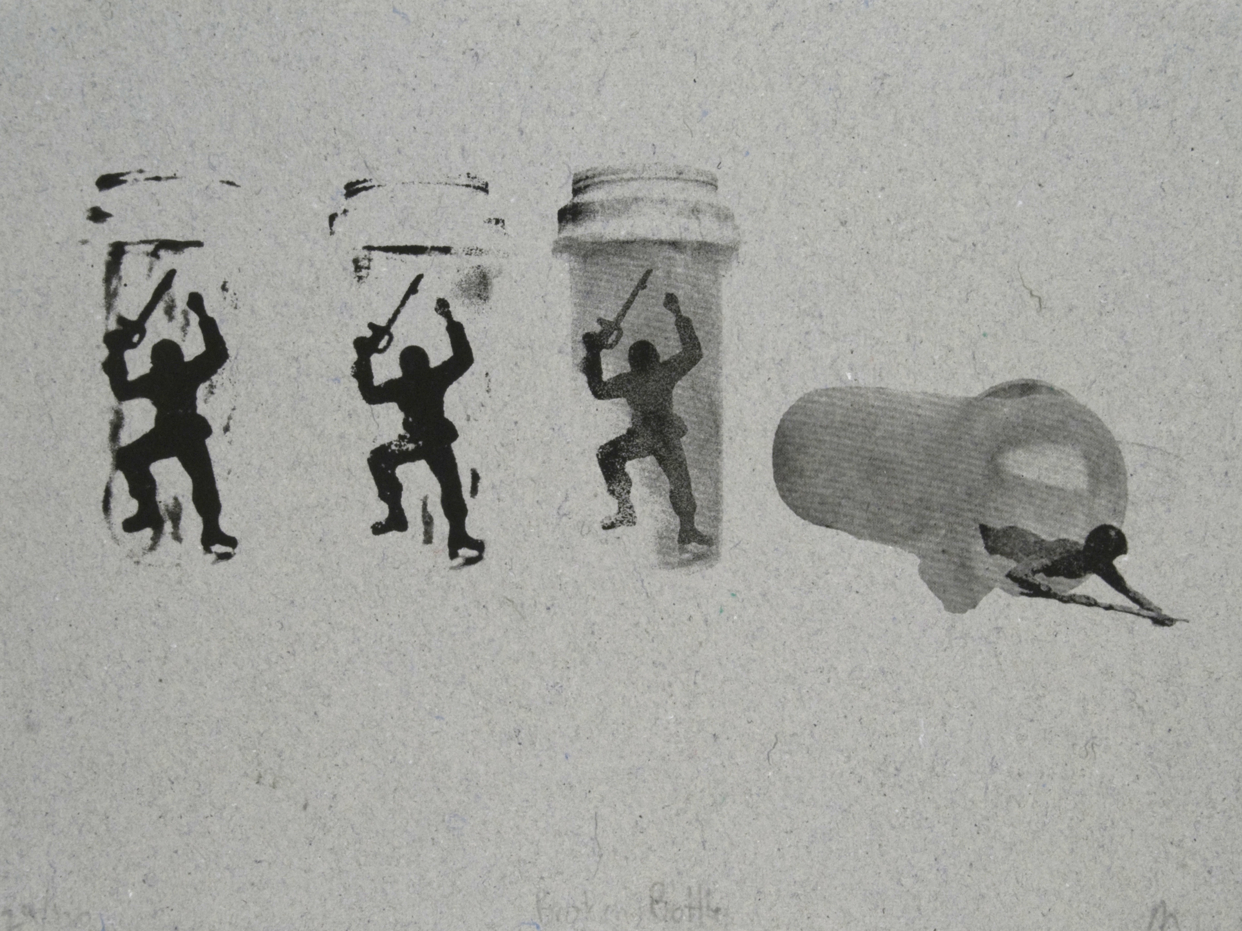 06 Pill Bottle Soldiers and Combat Paper by Malachi Muncy.jpg