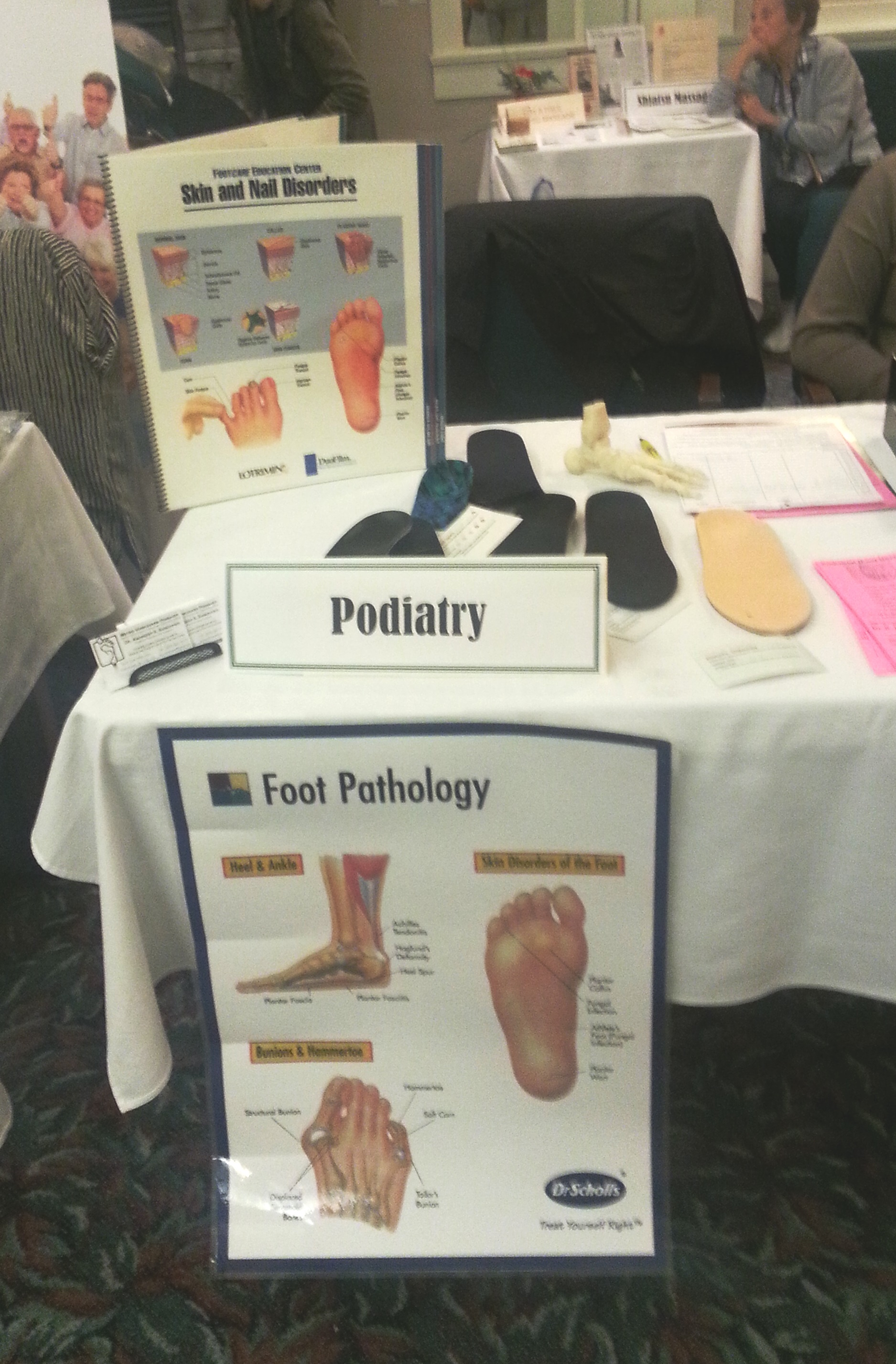 Metro Vancouver Podiatry attended the Seniors Health Fair at Shannon Oaks independent living retirement home
