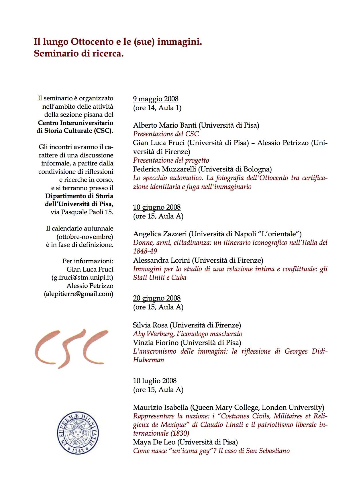 2008 (PI) Il lungo Ottocento e le (sue) immagini.jpg