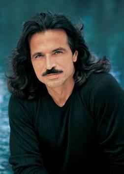 Yanni's mustache is enviable. Or is it?