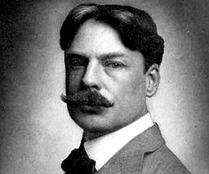 Edward Macdowell (1860-1908), American composer and pianist whose major contributions include wonderful short pieces such as his  Woodland Sketches  and this amazing push-broom mustache.
