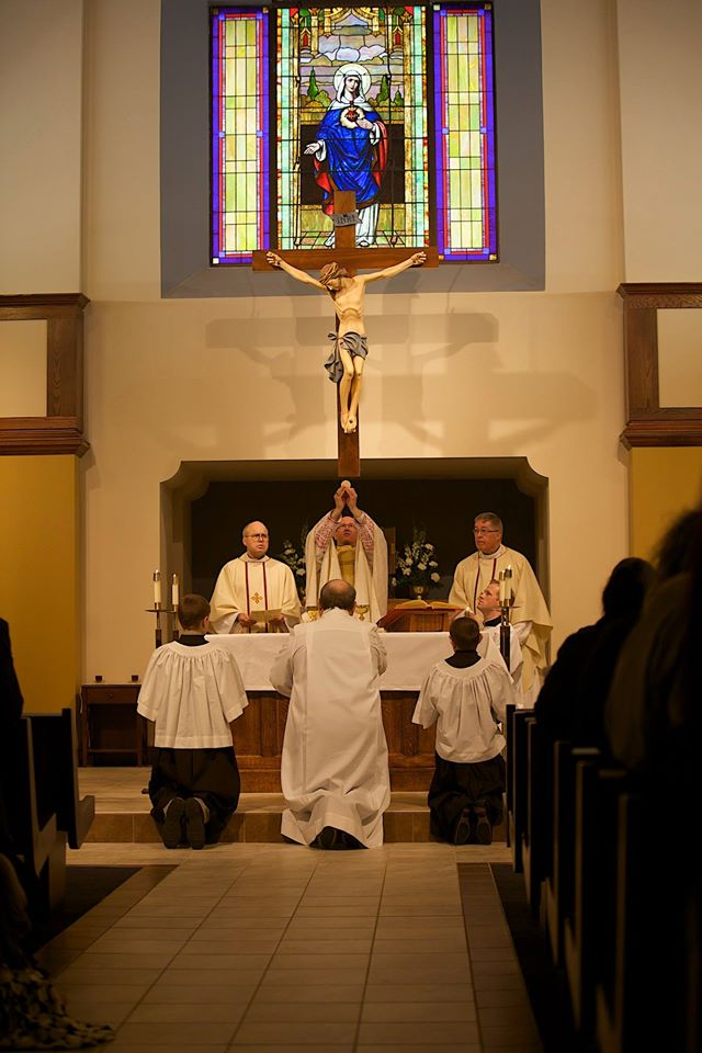 Dedication Mass with Bishop Conley