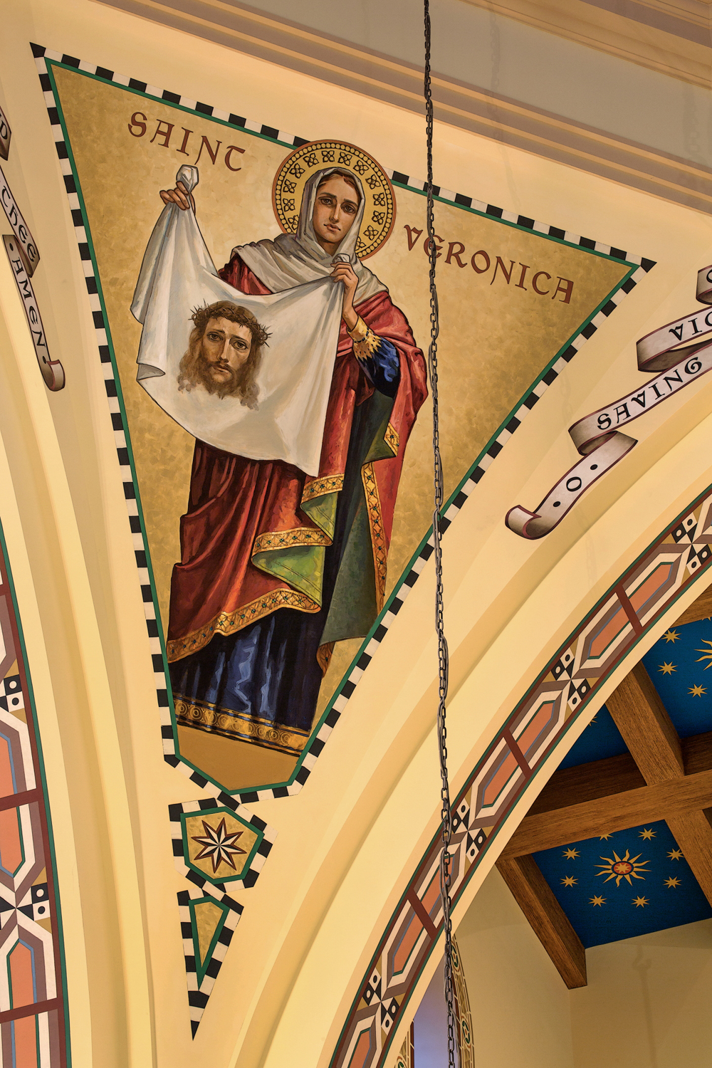 Crossing Tower Murals by Evergreene Architectural Arts