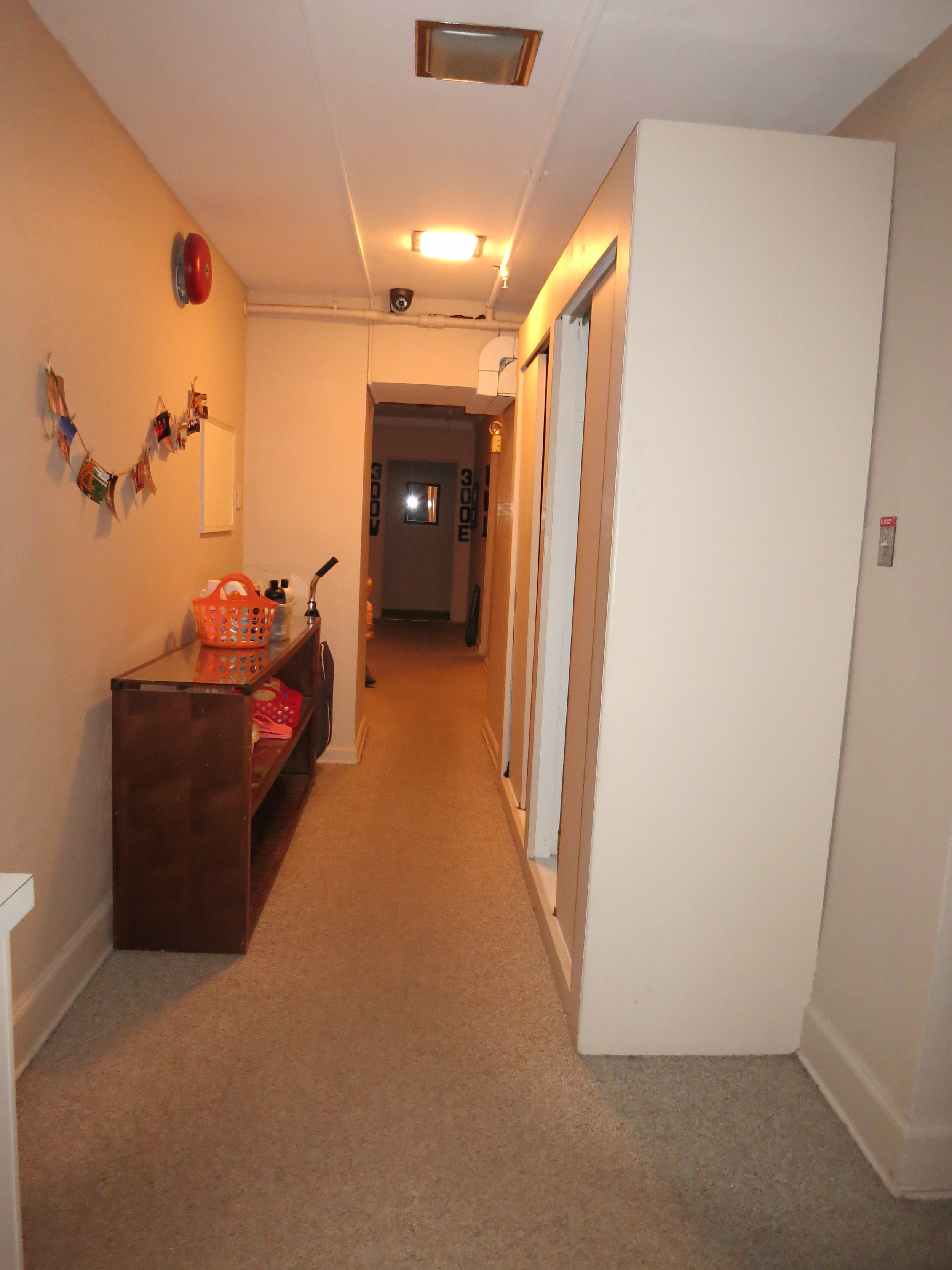 Typical corridor - BEFORE