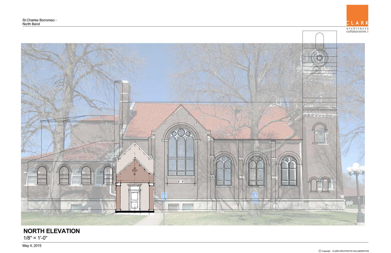 Sketch of Proposed Accessible Entry