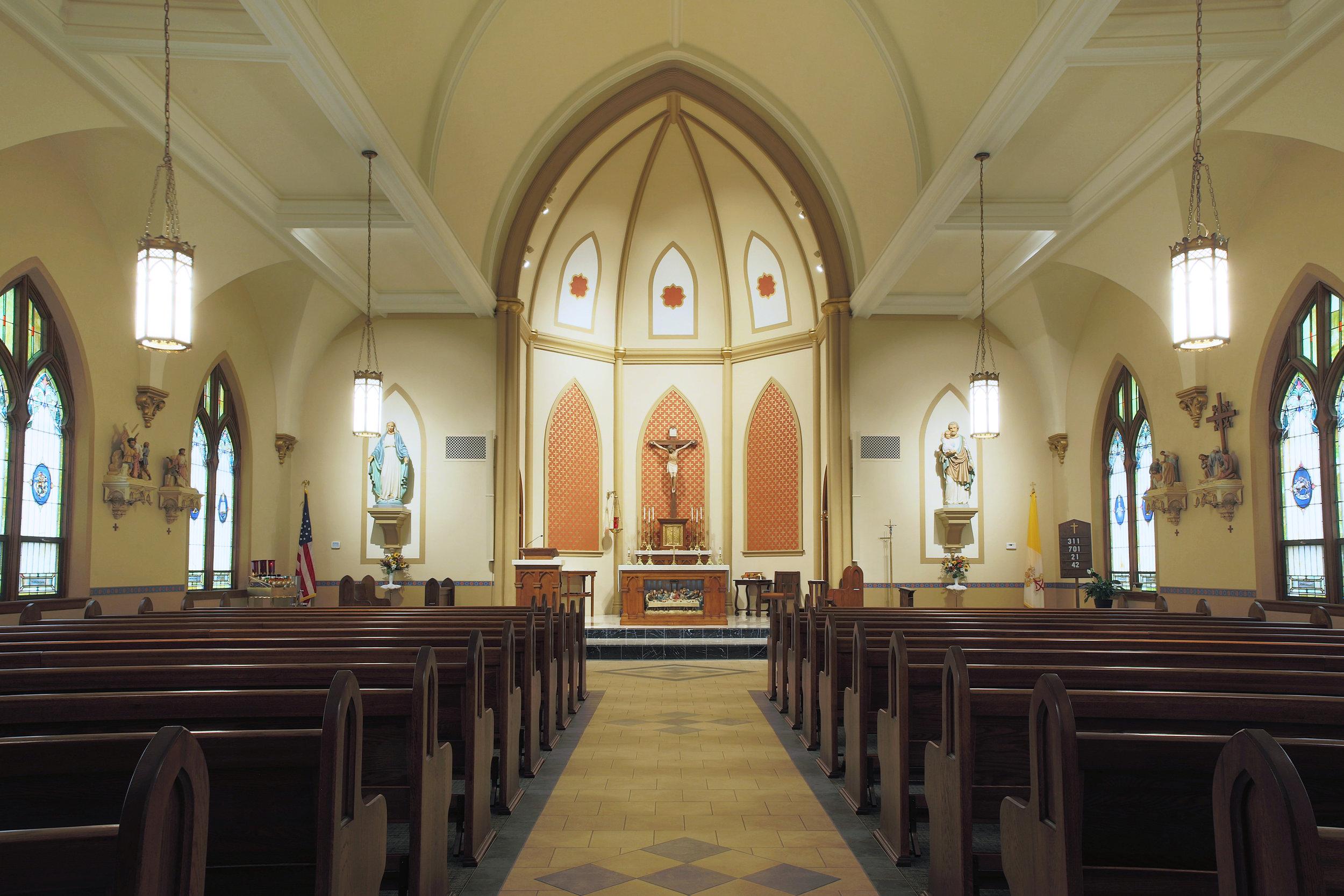 Renovated Sanctuary