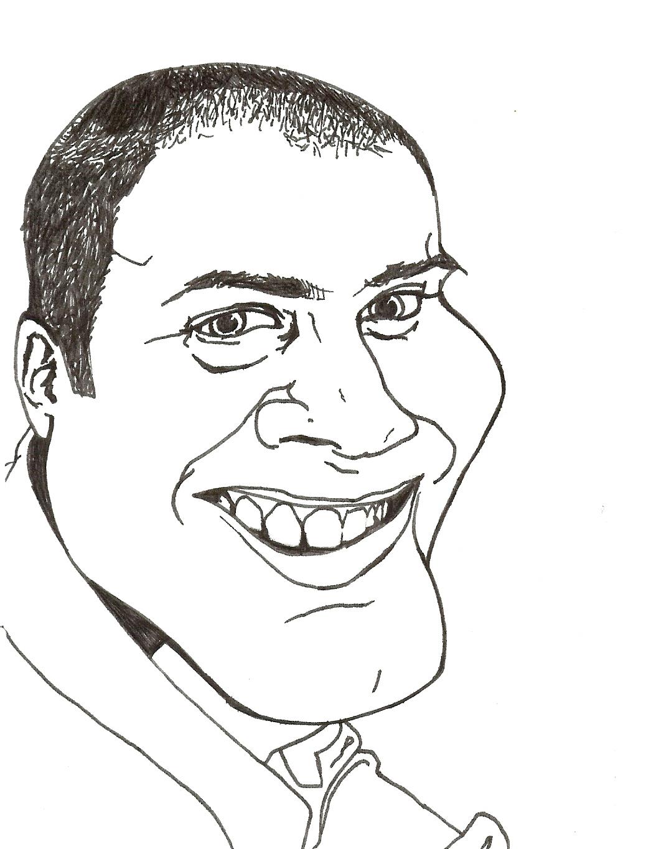 Mr. Claypool Caricature