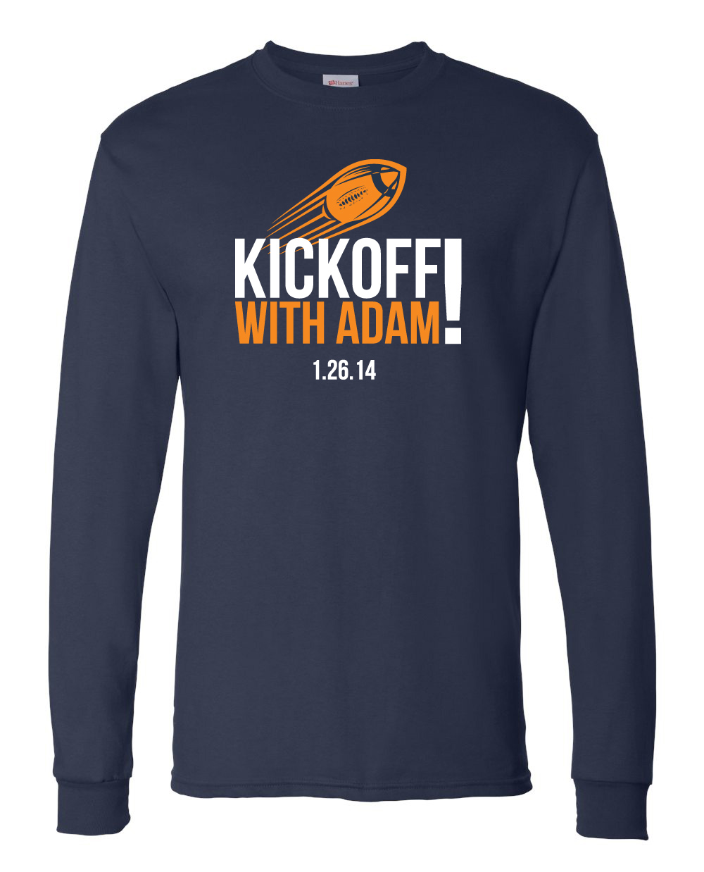 Kickoff with Adam!
