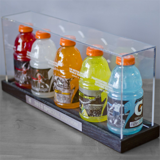Gatorade Iconic Moments Display Case Mailer