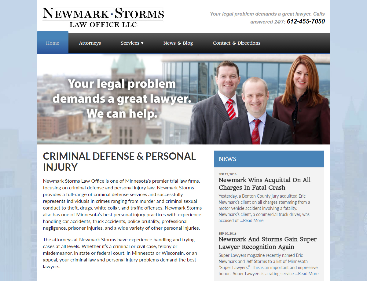 Newmark Storms Law Office