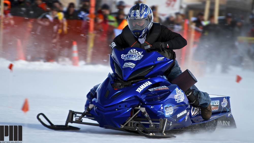 World Series Snowmobile Ice Drags — Peter Murphy
