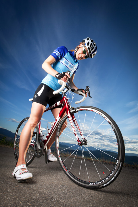 Jen Bond, triathlete, road biking, lifestyle, vernon