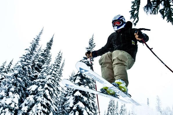 Silver Star Mountain, Putnam Creek, Head Wall, Skiing, Boarding