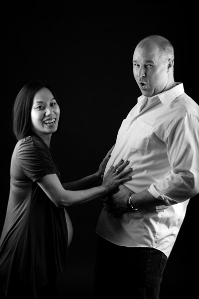 Shane & Orange, Maternity Portrait