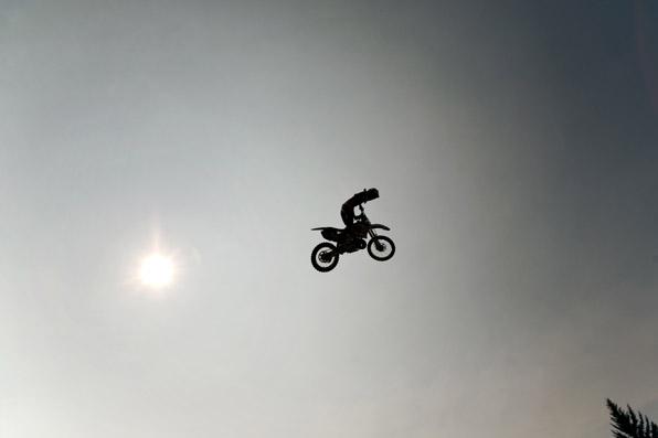 Morgan & Cody Kaliszuk, Chris Nolan, Dirt Bike Tricks