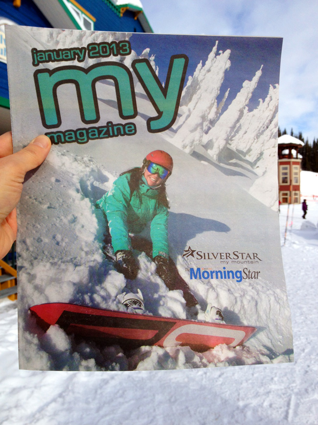 "January Issue of ""My Magazine""."
