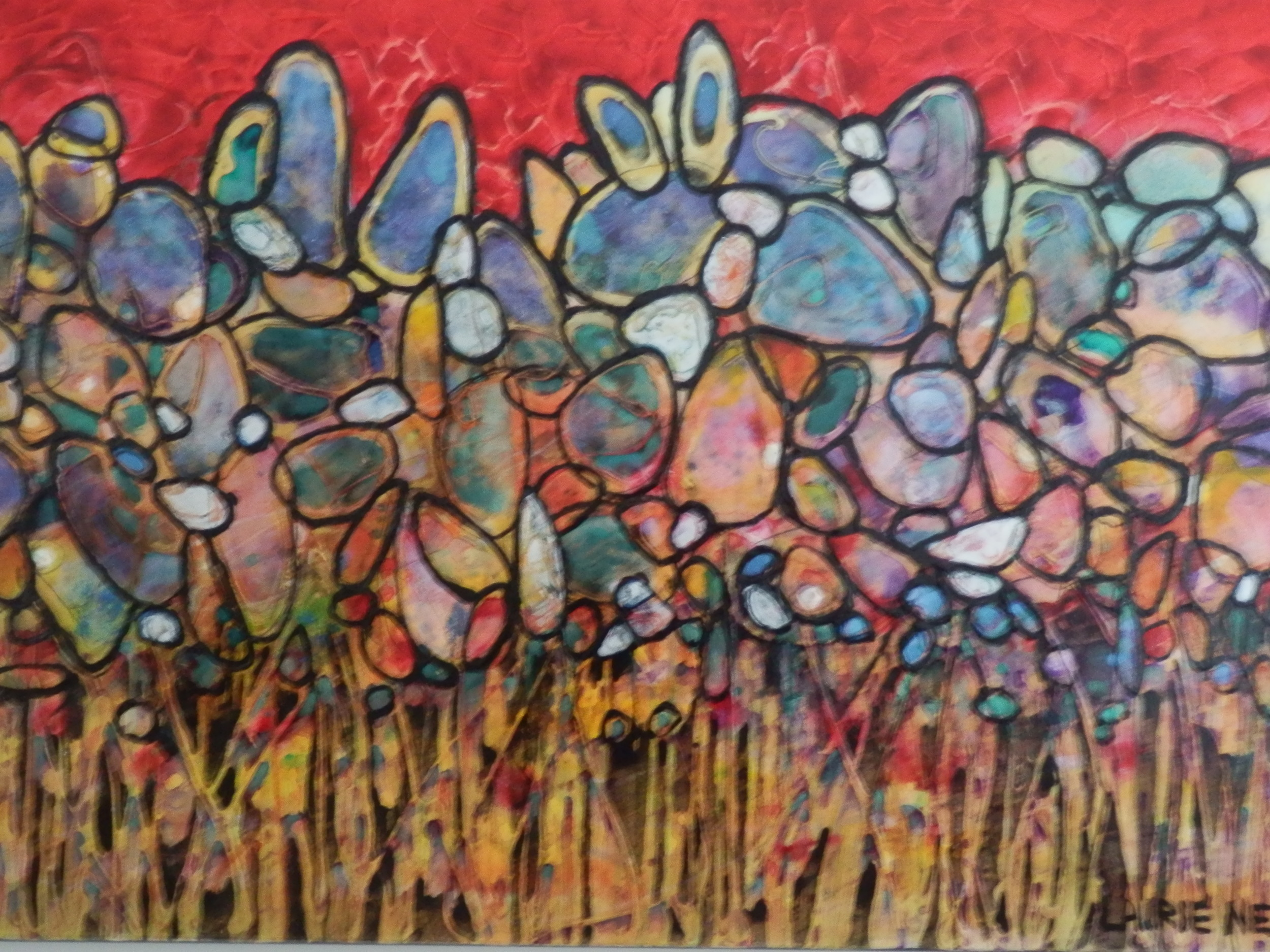 'Celebration' painting by Laurie Near