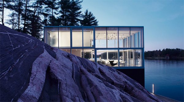 House style #5 - Glass cube lakeside house - Stoney Lake, ON.jpg