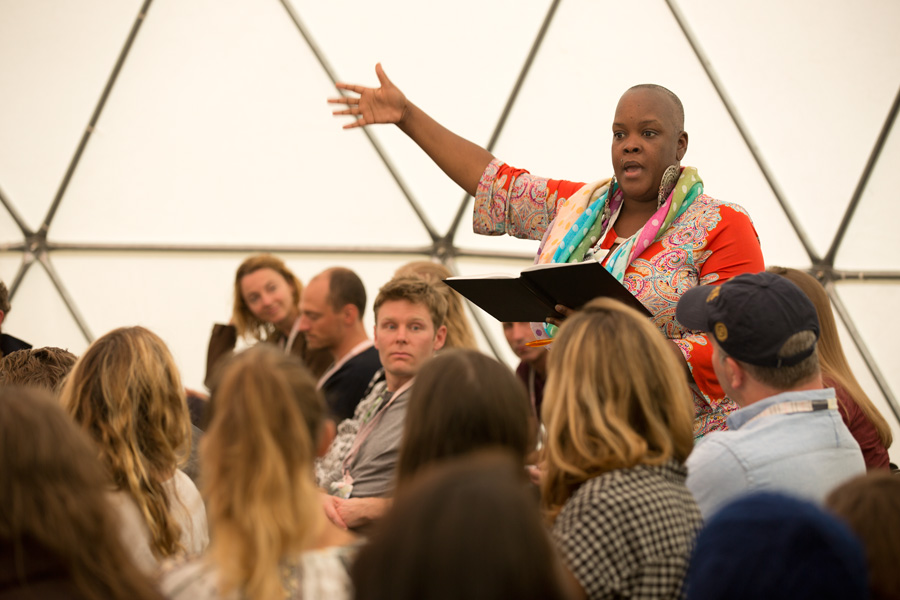 Sonya Renee Taylor, creator of The Body Is Not An Apology