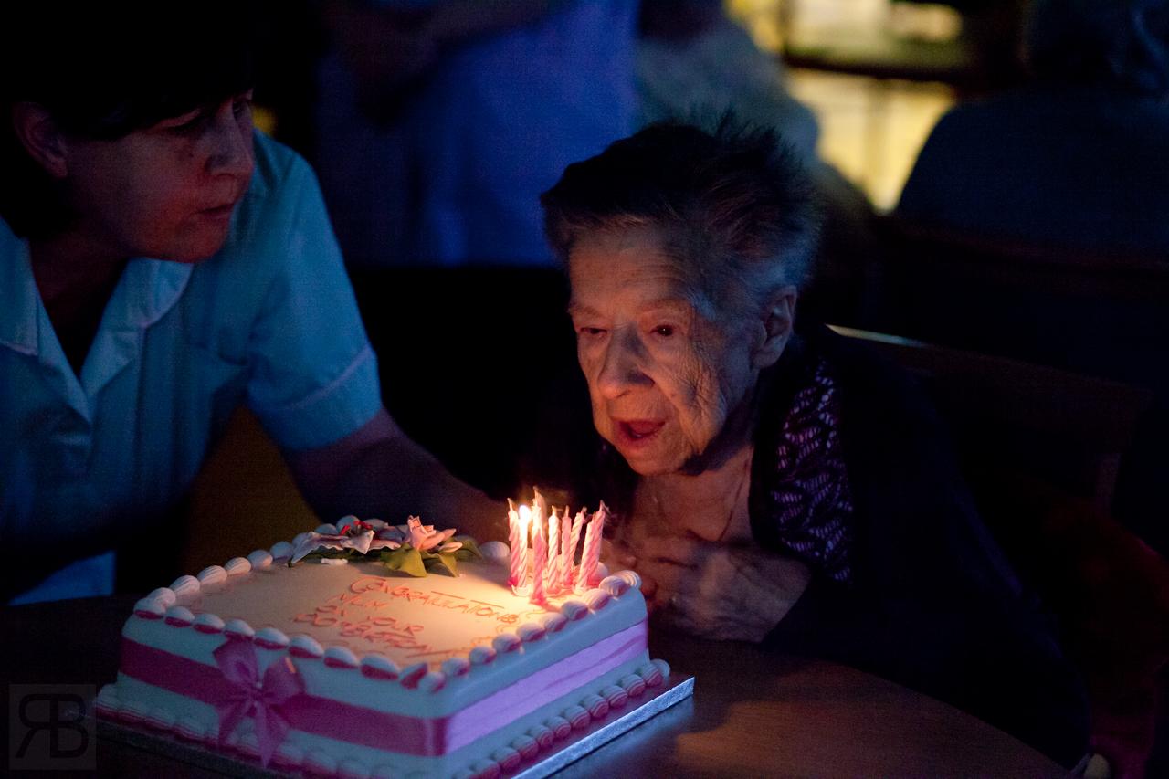 Grandmars 100th Birthday...