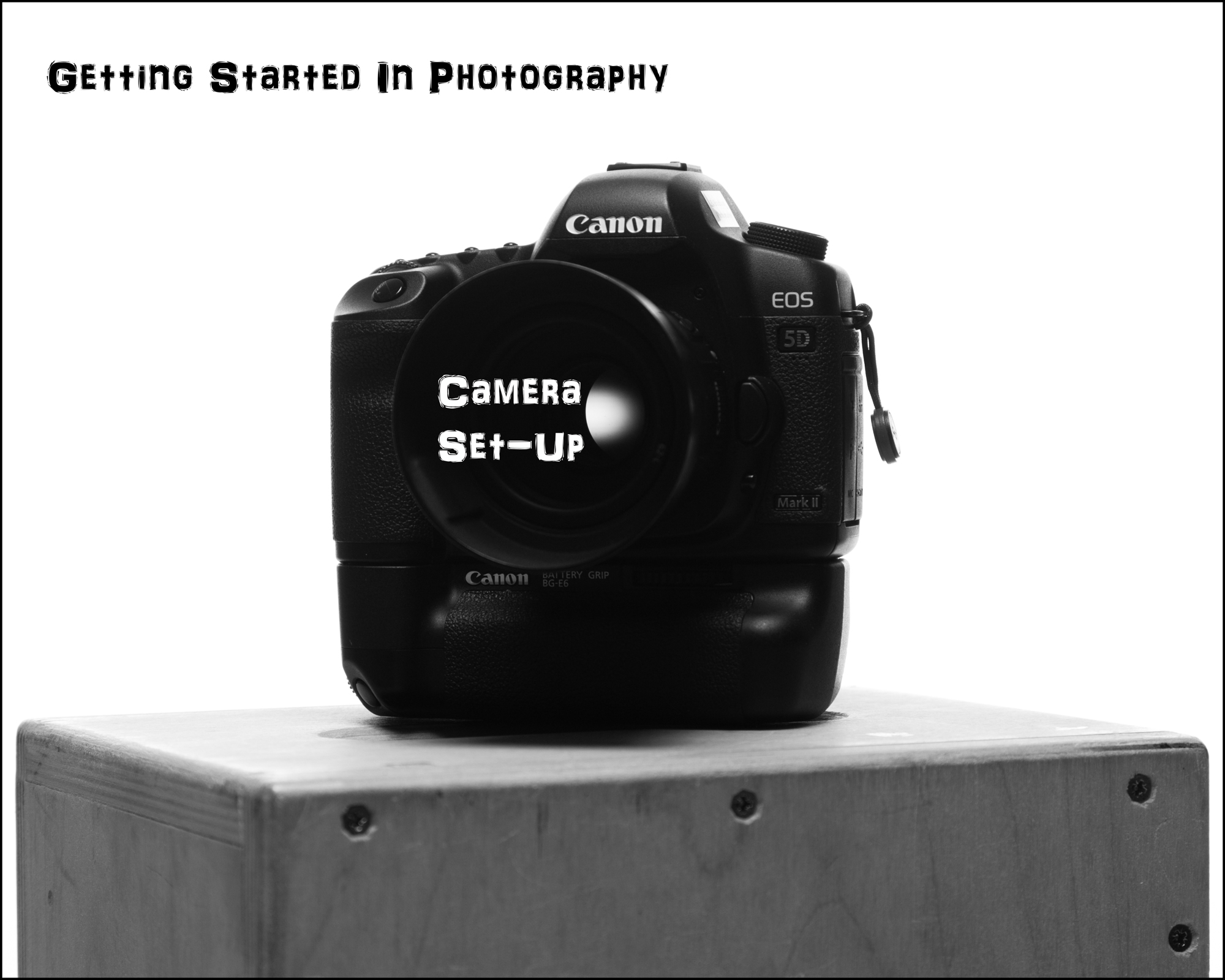 The Craft Blog - Getting Started In Photography - Camera Setup T