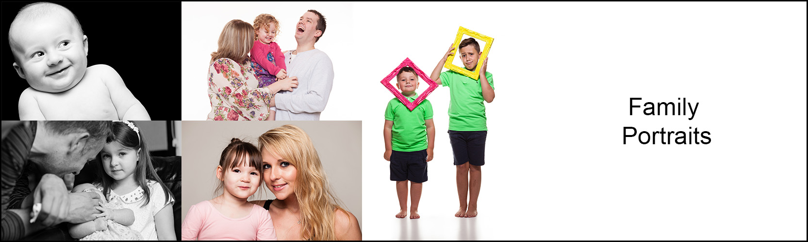 Family Portraits - Info Banner Image - Services & Prices Page