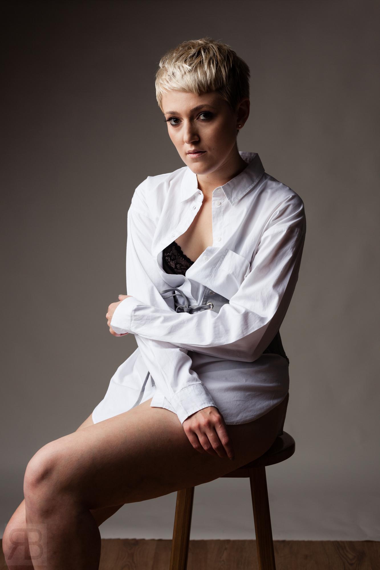 A portrait of Ellie Bebbington - MUA
