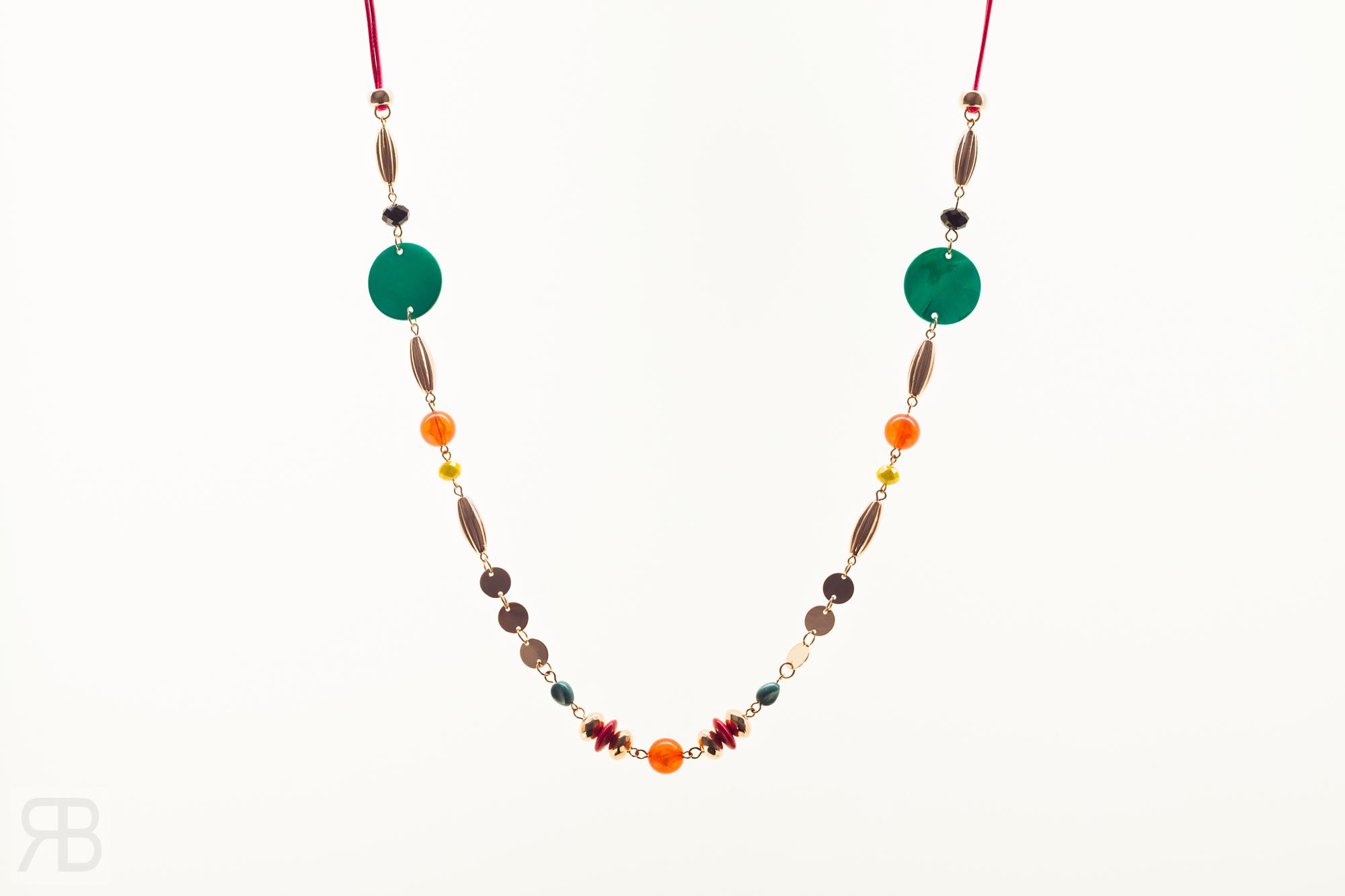 Shell Beaded Long Necklace - Matalan