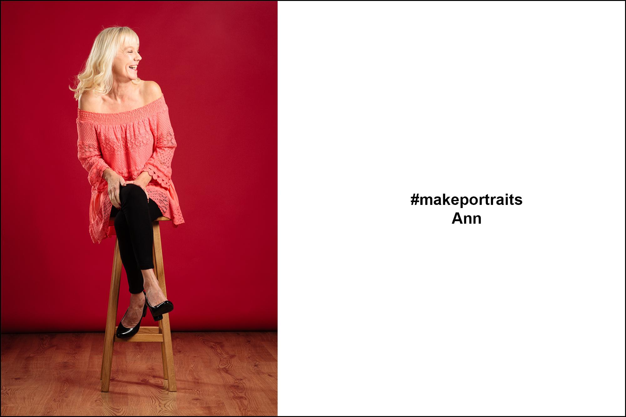 #makeportraits - Ann Riley