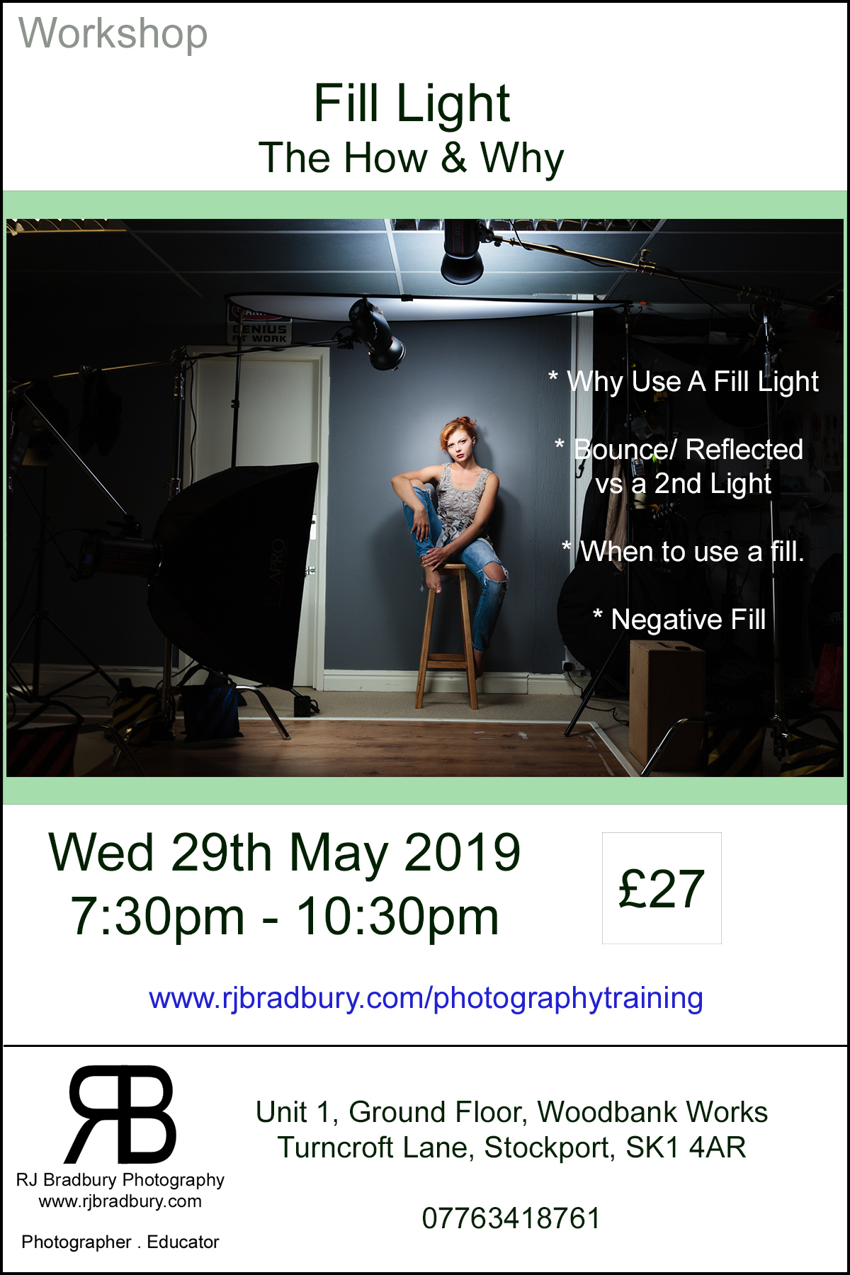 Workshop - Fill Light - The How & Why