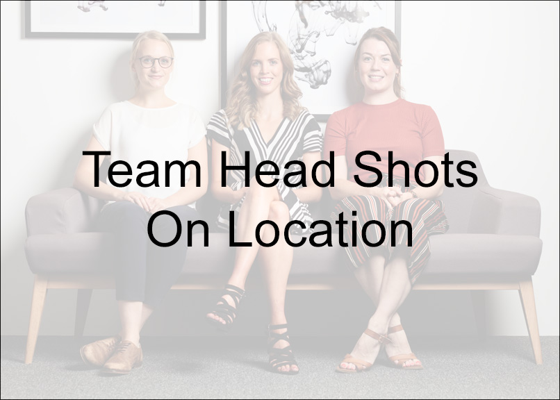 Team Head Shots - from £230 - On location team head shots. From teams of up-to 4 through to large teams of 20+. Teams of up-to 4 £230Teams of up-to 8 £295For teams of 10 + please contact me using the form below.