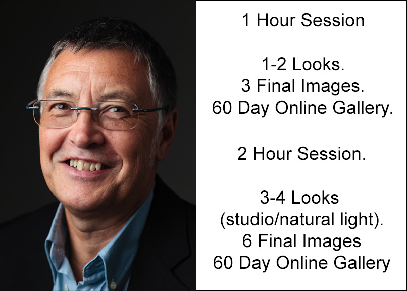 Individual £85 - In studio head shot sessions - 1 or 2 hour.Selections made at session for fast delivery. Perfect for actors, sole traders, small business owners, bloggers. ( Make up artist optional extra, please contact to arrange )