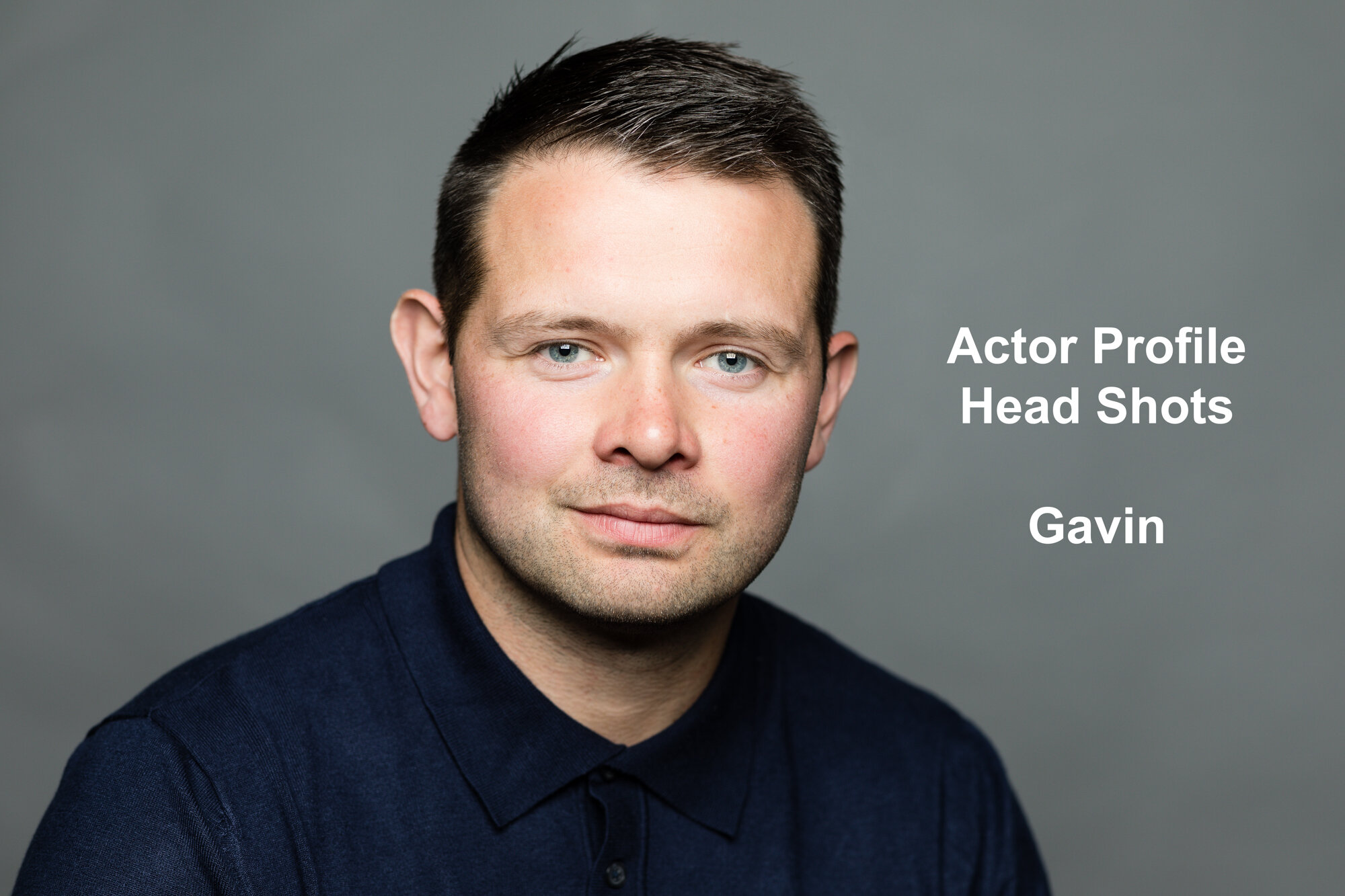 Actor Head Shot... G Yates