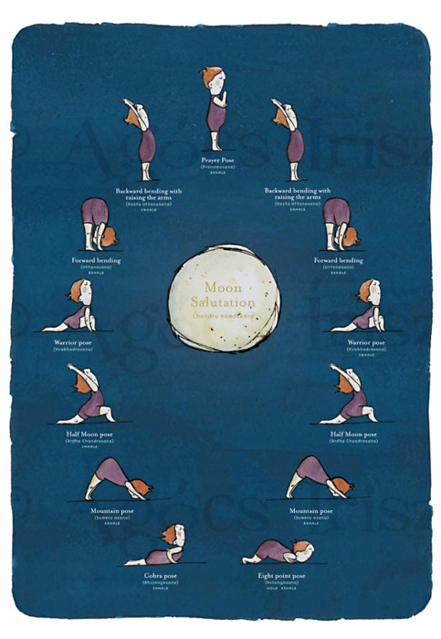 Moon Salutations A Way To Unwind Lachrista Greco